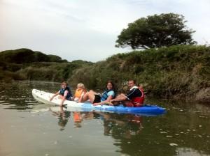 kayaking en roche 2012