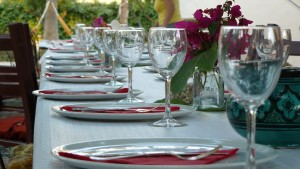 mesa casa rural